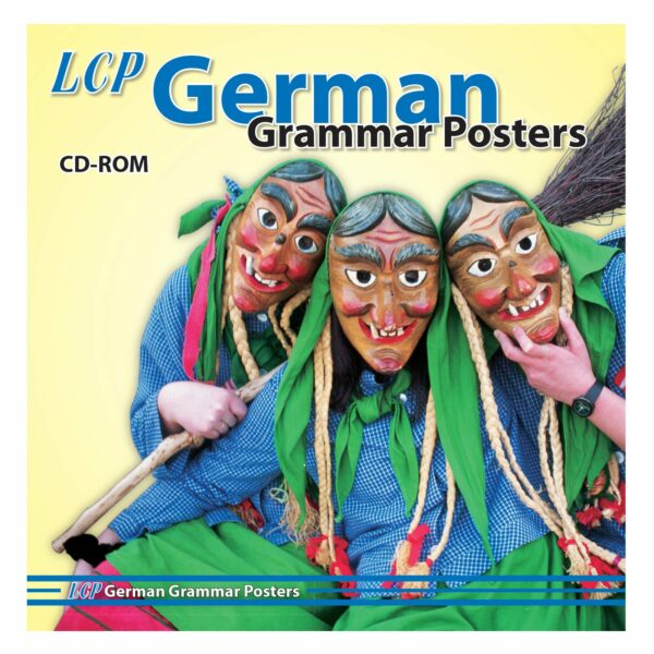 lcp german grammar posters