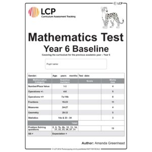 lcp mathematics test year 6 baseline