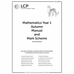 lcp mathematics year 1 autumn manual mark scheme