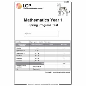 lcp mathematics year 1 spring progress test