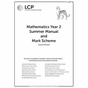 lcp mathematics year 2 summer manual mark scheme