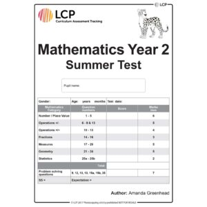 lcp mathematics year 2 summer test