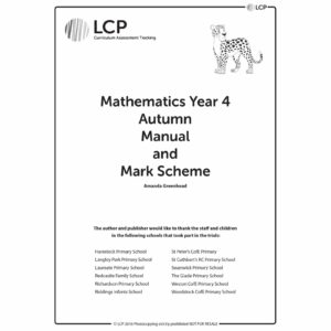 lcp mathematics year 4 autumn manual mark scheme