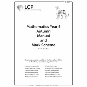 lcp mathematics year 5 autumn manual mark scheme