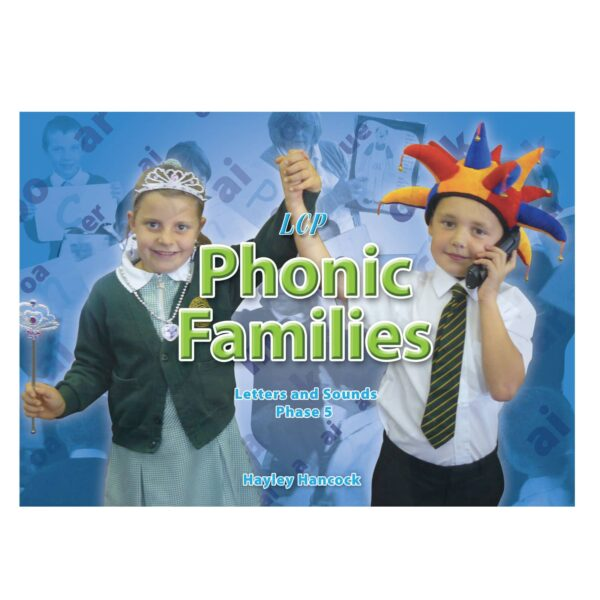 lcp phonic families letters and sounds phase 5