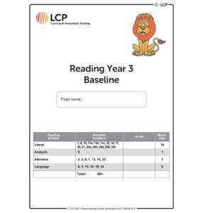 lcp reading year 3 baseline