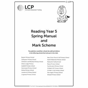 lcp reading year 5 spring manual mark scheme
