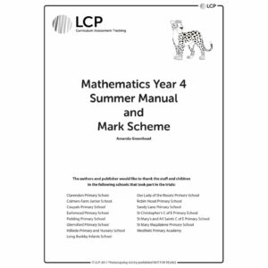 lcp mathematics year 4 summer manual mark scheme