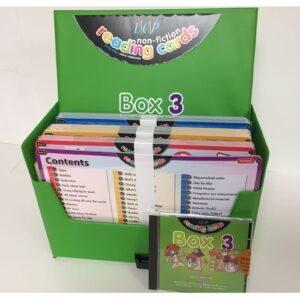 lcp non fiction reading cards box 3