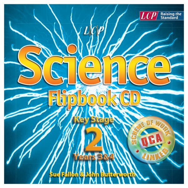 lcp science flipbook cd key stage 2 year 3 4