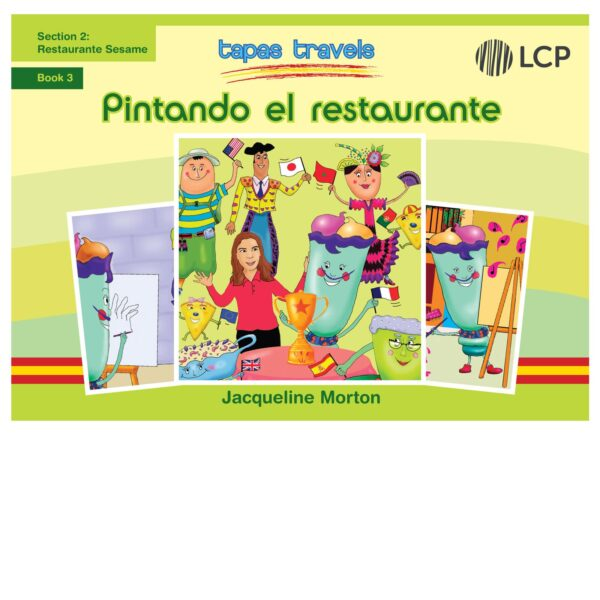 lcp tapas travels pintando el restaurante book 3