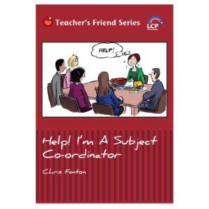 lcp teachers friend series help i'm a subject coordinator