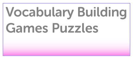 Vocabulary Building Games & Puzzles